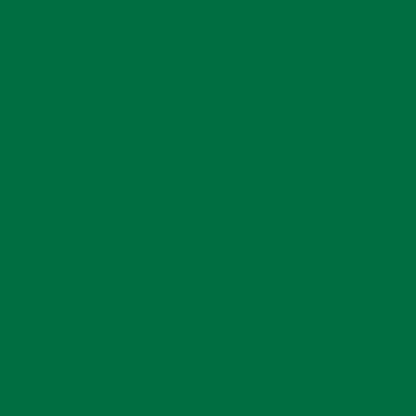 Plakplastic uni Smaragd glans 45CM breed RAL 6016