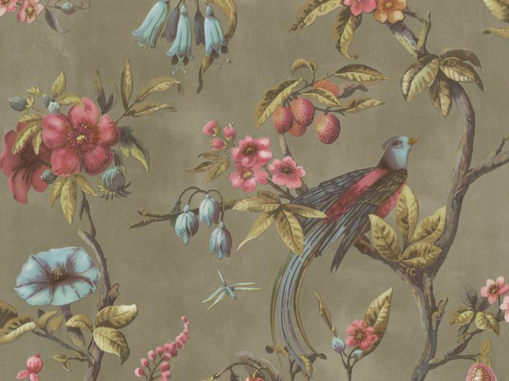 BN Fiore behang Birds of Paradise 220445