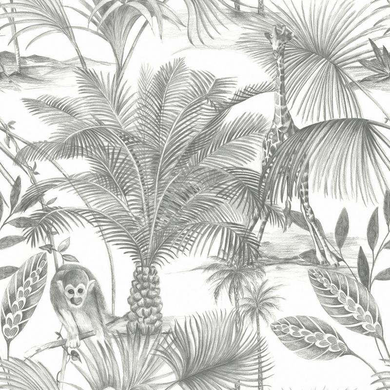 Dutch Wallcoverings Jungle Fever behang Kidatu JF3501