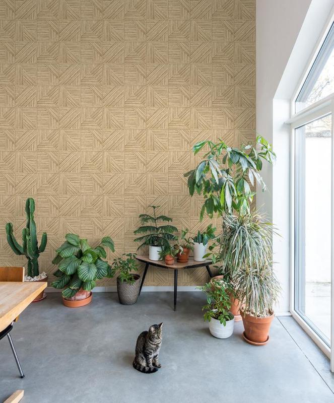 Dutch Wallcoverings Jungle Fever behang Paglia JF2401