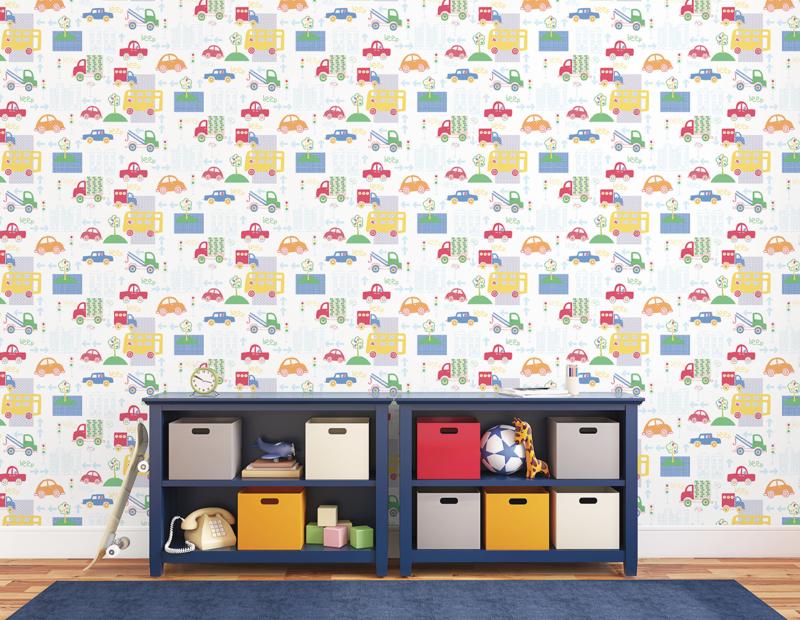 Noordwand Just 4 Kids 2 behang Beep G56010