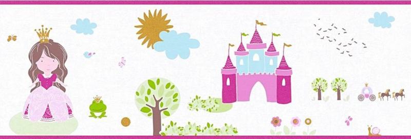AS Creation Little Stars Prinses behangrand 35853-2