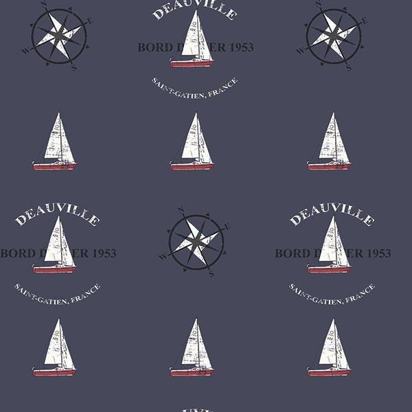 Noordwand Deauville 2 Kompas behang G23036