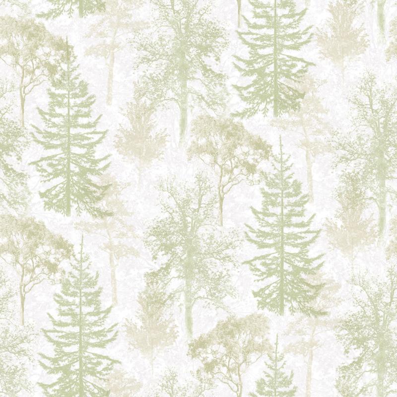 Noordwand Evergreen behang Bomen 7310