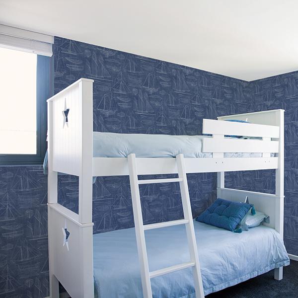 Noordwand Deauville 2 Blueprint behang G23325