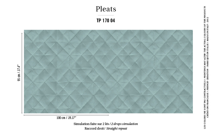 Élitis Pleats behang Mis en Plis TP 17004