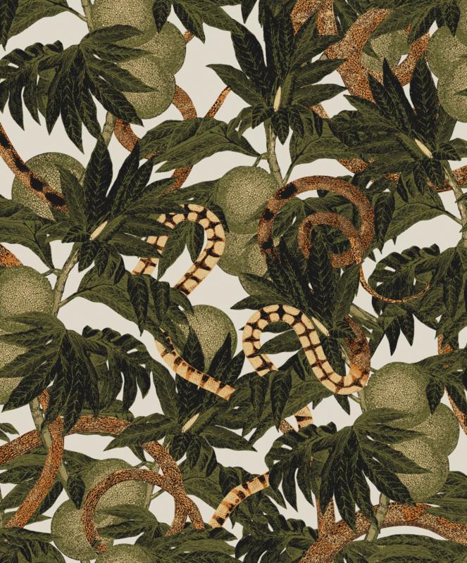 Khrôma Cabinet of Curiosities behang Equator Jungle CAB204