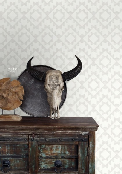 Esta Home Boho Chic Aztec behang 148673