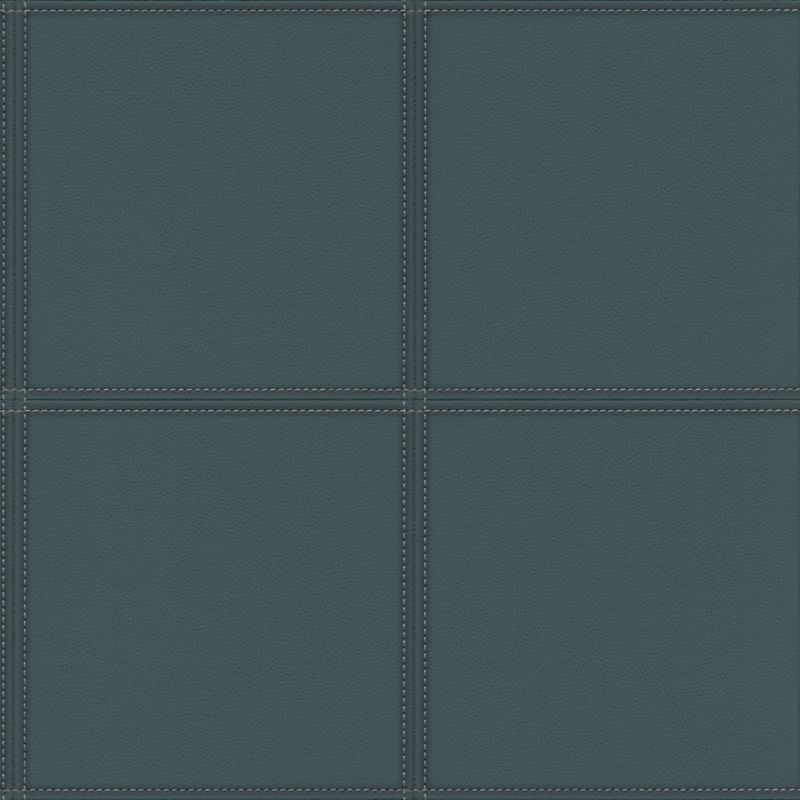 Rasch Club behang Leather Tiles 419054