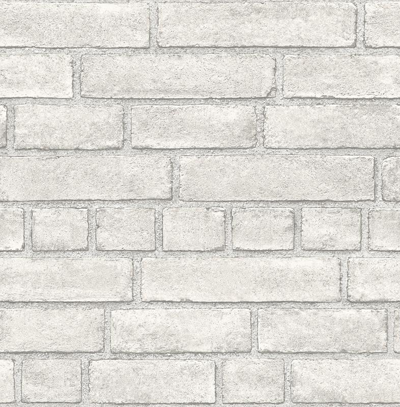 Dutch Restored Brick Façade behang 24051