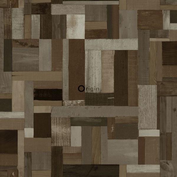 Origin Matières-Wood behang 337221