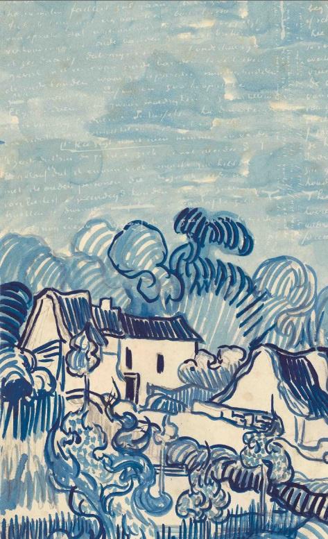 BN van Gogh 2 Digital 200332 Landscape with Houses