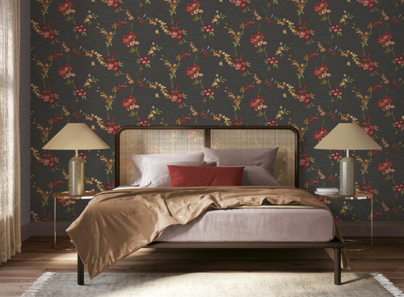 Dutch Fabric Touch behang Flower FT221214