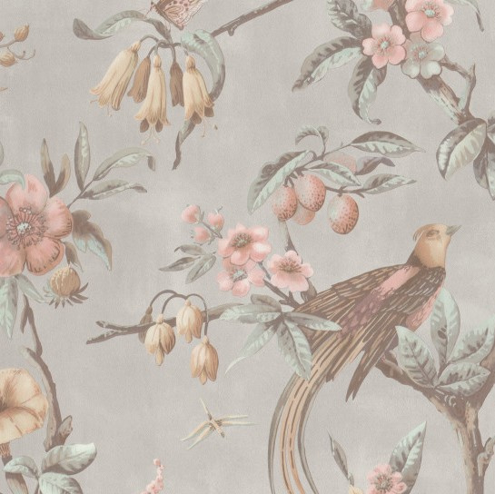 BN Fiore behang Birds of Paradise 220442