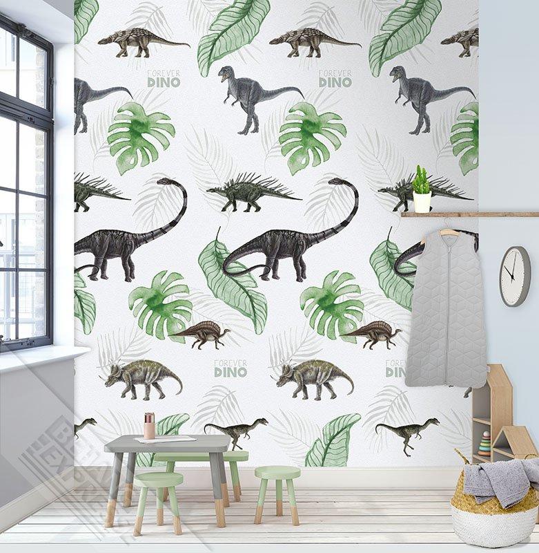 Behangexpresse Abby & Bryan Wallprint Dino In My Room INK 7216