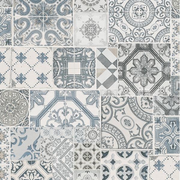Dutch Collage Marokkaanse Tegels behang 42506-30