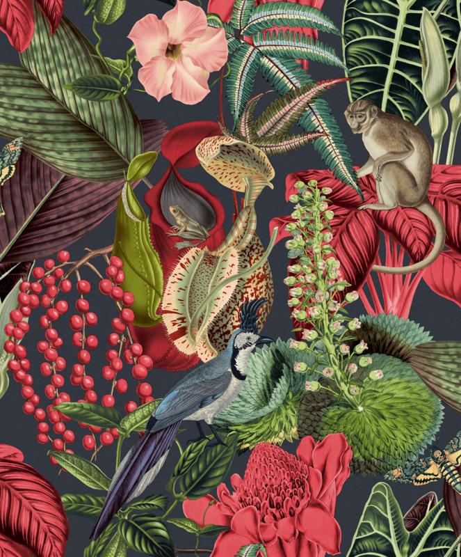 Dutch Wallcoverings Jungle Fever behang Amazon JF2201