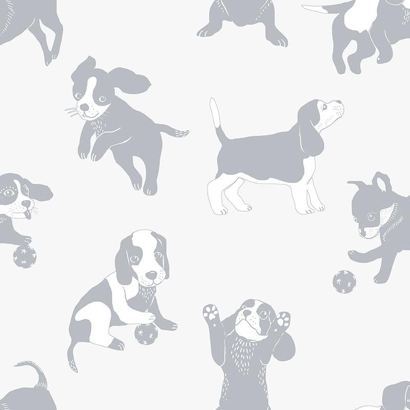 Behangexpresse Morris & Mila behang Doggies 27197