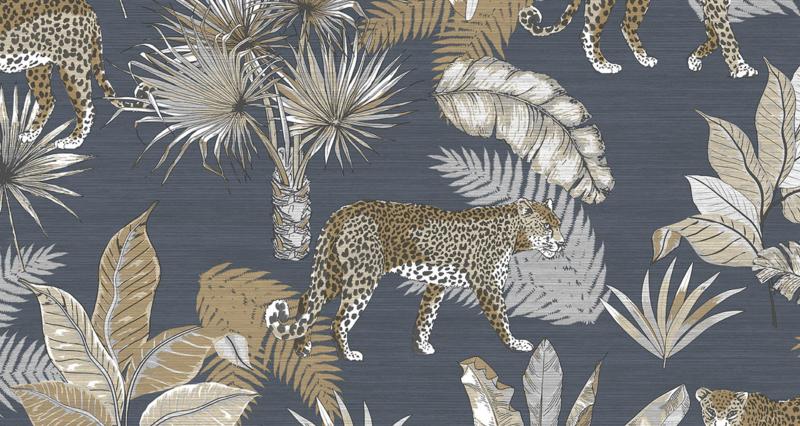 Dutch Wallcoverings Jungle Fever behang Leopard JF2102
