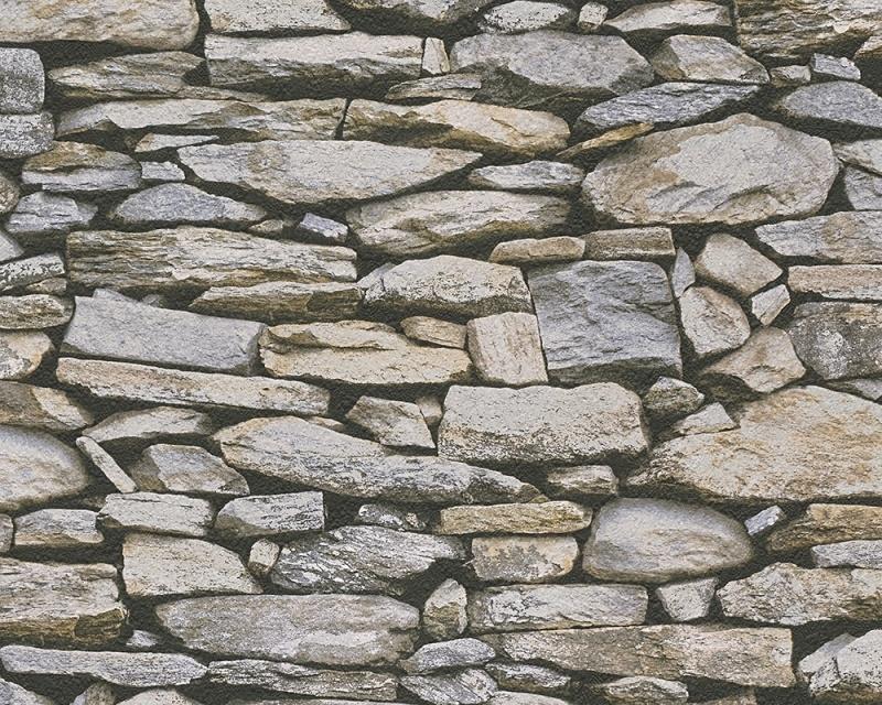 AS Creation Dekora Natur behang 95820-2 Steen