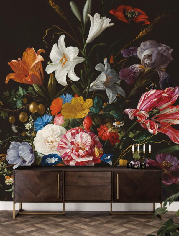 KEK Amsterdam Flora & Fauna behang Golden Age Flowers WP-233
