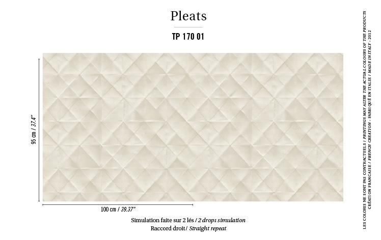Élitis Pleats behang Mis en Plis TP 17001