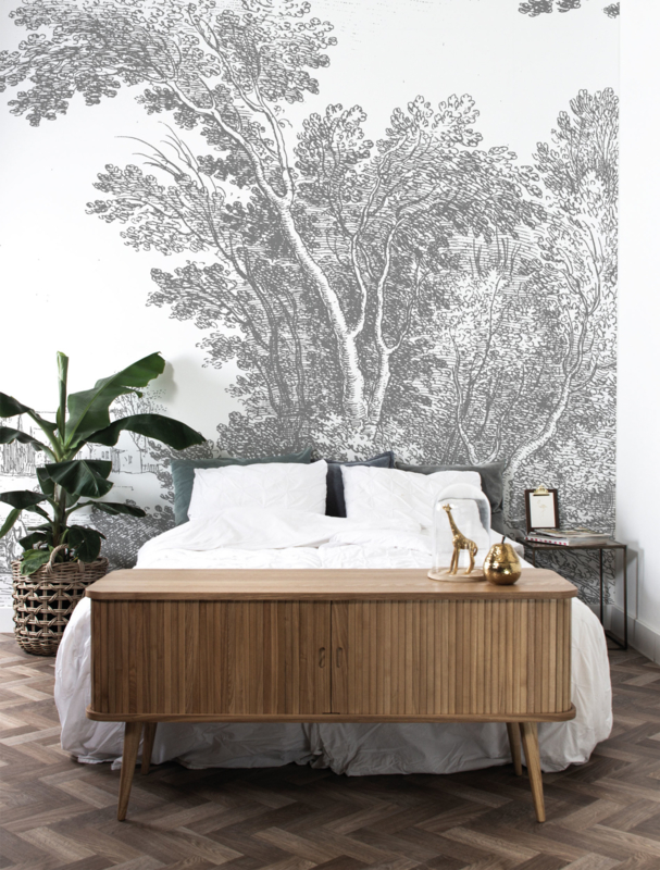 KEK Amsterdam Landscapes & Marble behang Engraved Landscapes WP-326