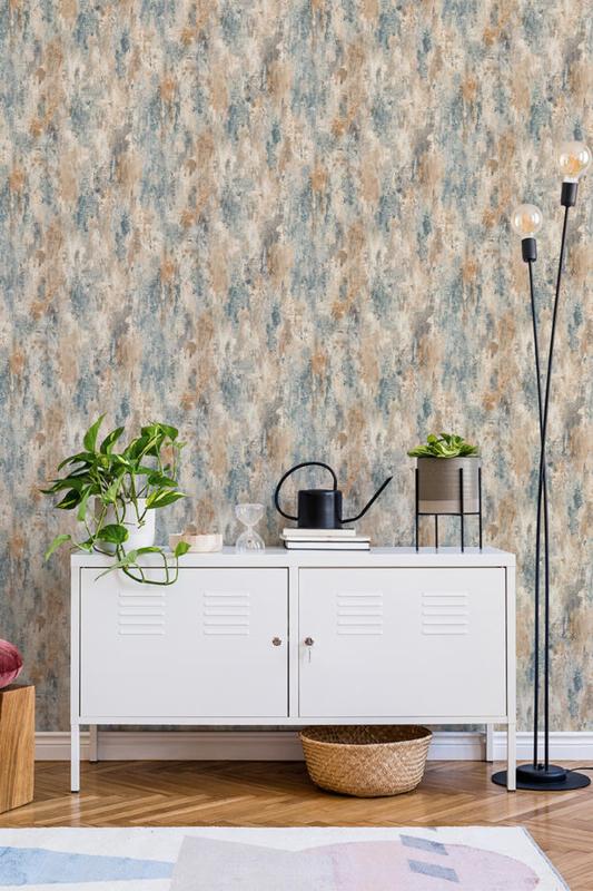 Dutch Wallcoverings Jungle Fever behang Bosa Plain JF1102
