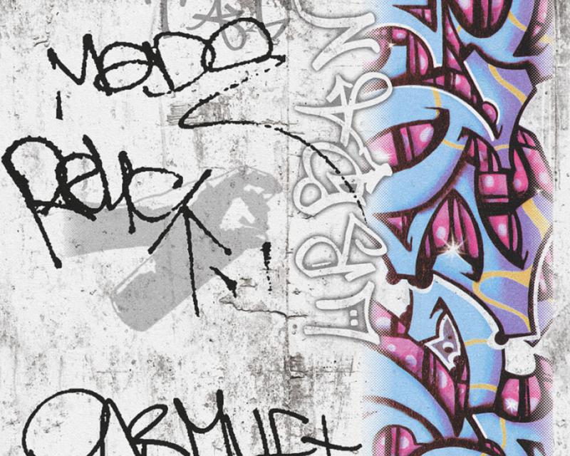 AS Creation Boys and Girls 6 behang Graffiti 36986-1