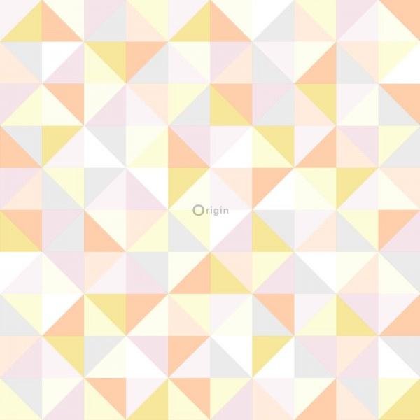 Origin Hide & Seek driehoekjes behang 337211