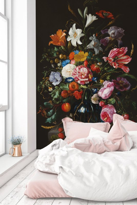 KEK Amsterdam Wonderwalls behang Golden Age Flowers V WP-231