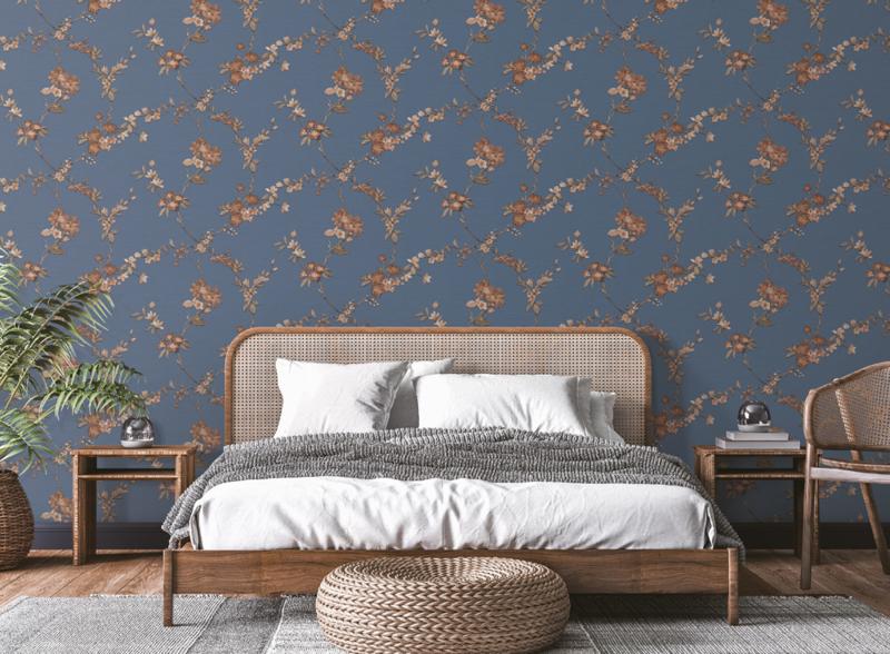 Dutch Fabric Touch behang Flower FT221215