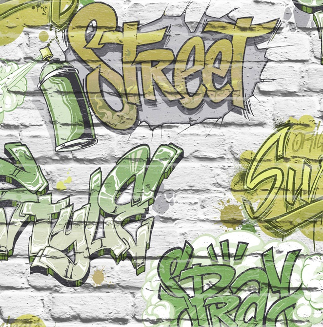 Dutch Freestyle behang Graffiti L179-04