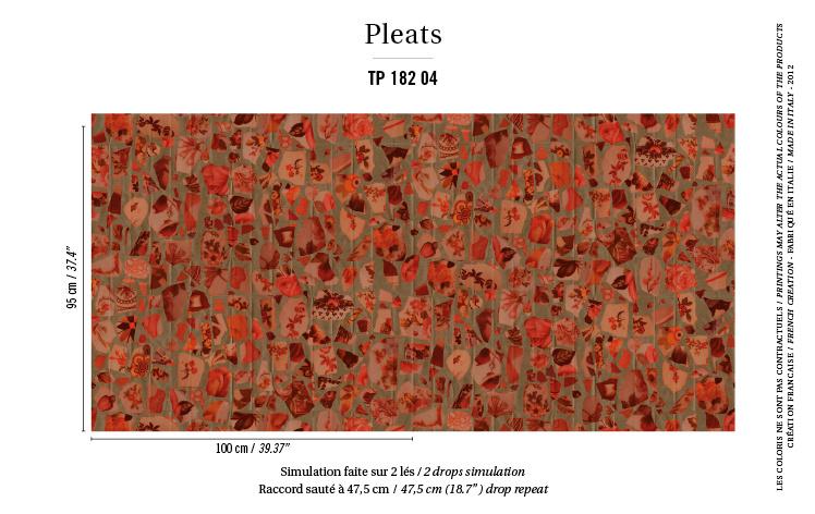Élitis Pleats behang Portobello TP18204