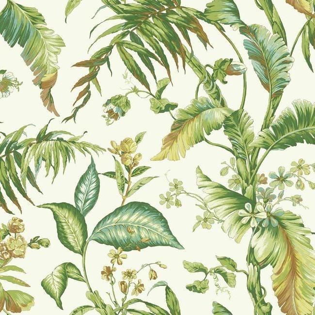 York Wallcoverings Ashford Tropics behang AT7091 Fiji Garden