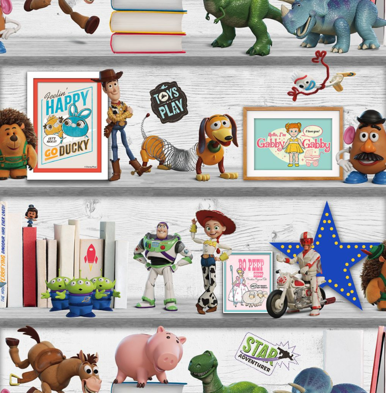 Noordwand Kids@Home Inidvidual behang Toy Story Play Date 108017