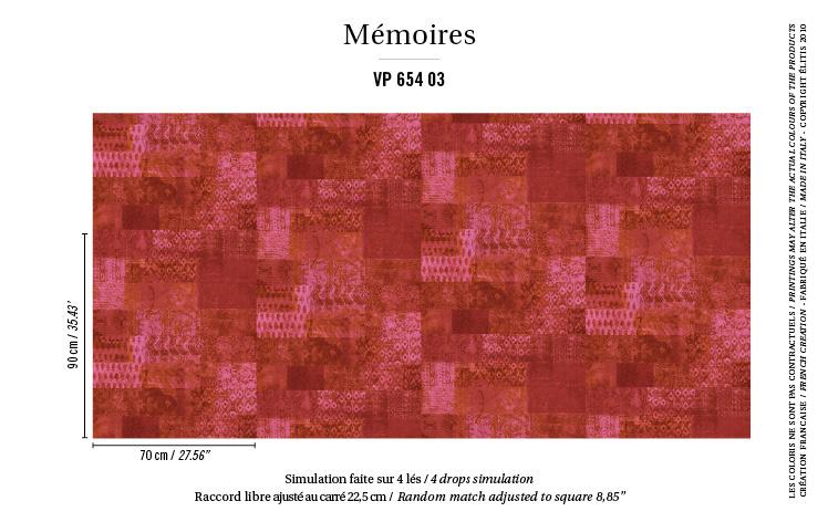Élitis Mémoires behang Kilim VP 65403