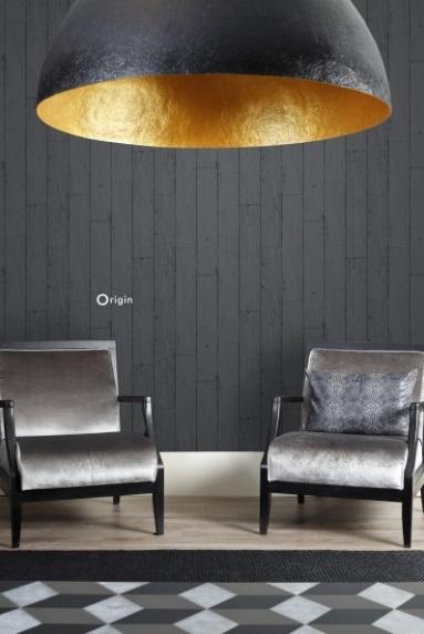 Origin Matières-Wood behang 347537