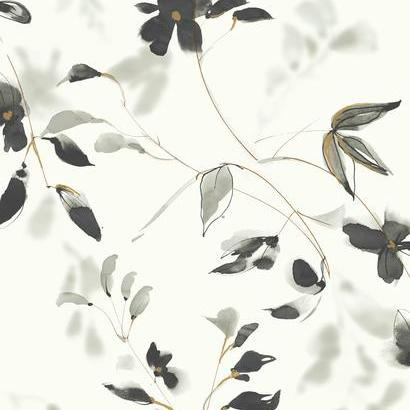 York Wallcoverings Candice Olson Tranquil behang Linden Flower SO2442