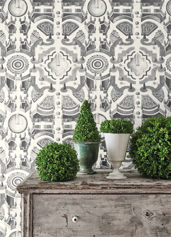 Cole & Son Botanical behang Topiary 115/2006