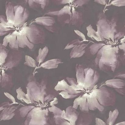 York Wallcoverings Candice Olson Tranquil behang Midnight Blooms SO2473