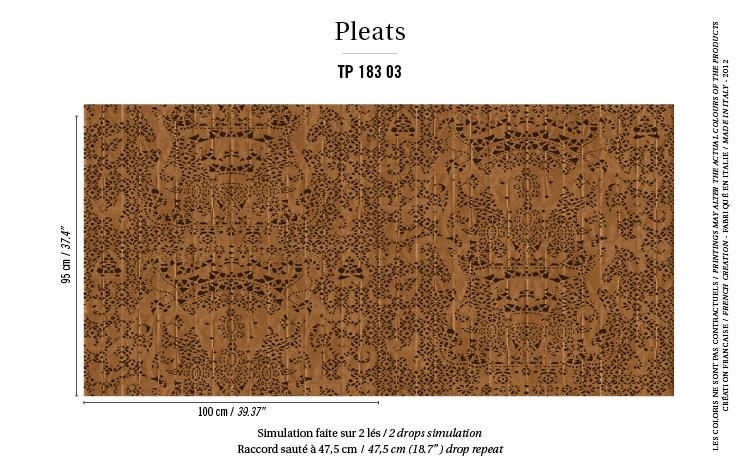 Élitis Pleats behang Hallelujah TP 18303