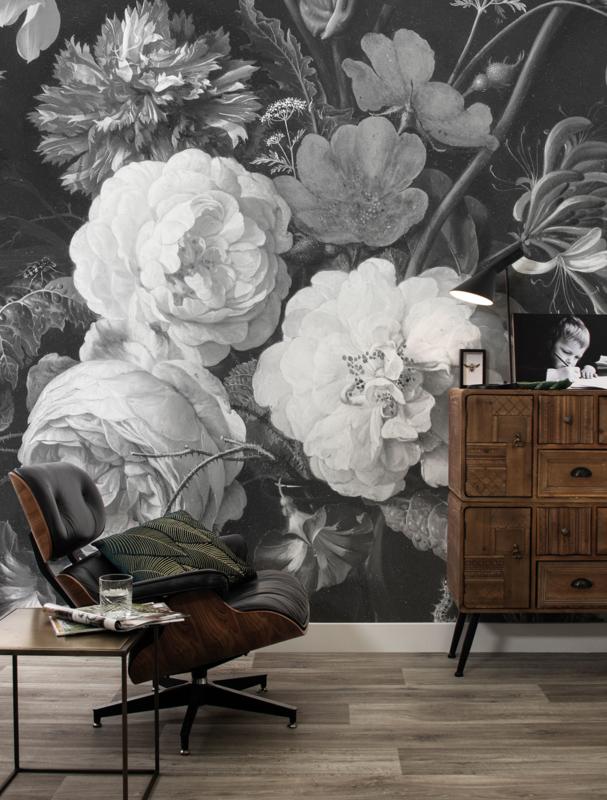 KEK Amsterdam Flora & Fauna behang Golden Age Flowers WP-586