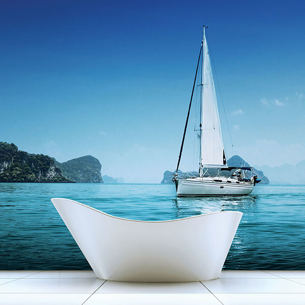 Noordwand Global Fusion Mural G45271 Yacht