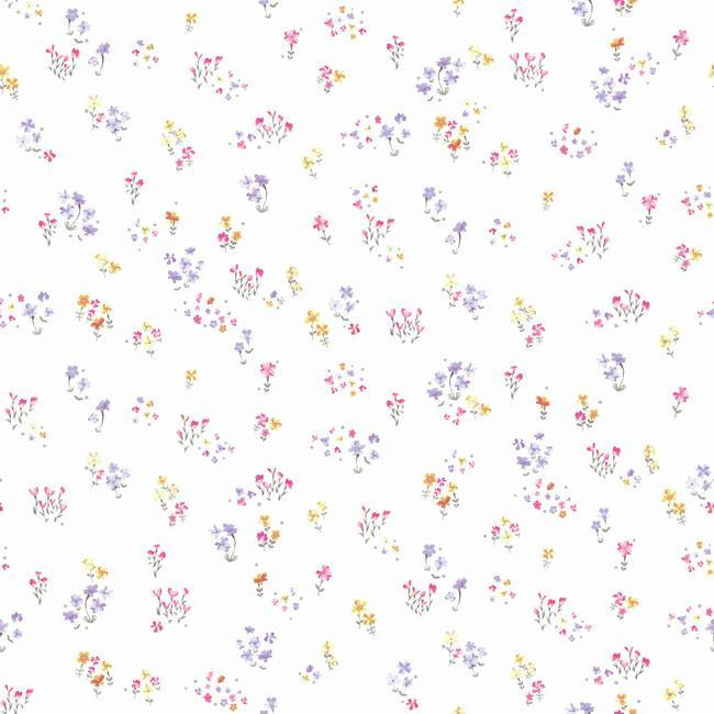 York Wallcoverings A Perfect World behang KI 0521 Watercolor Floral
