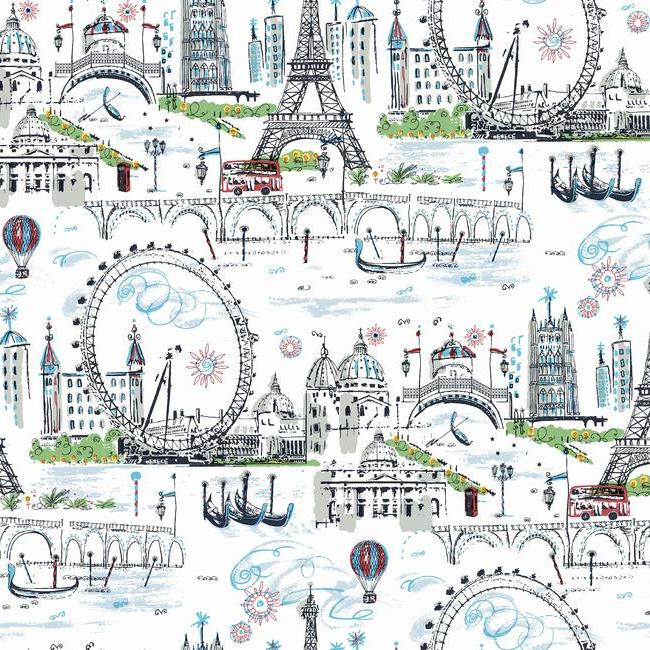 York Wallcoverings A Perfect World behang KI 0585 Novelty Euro Scenic