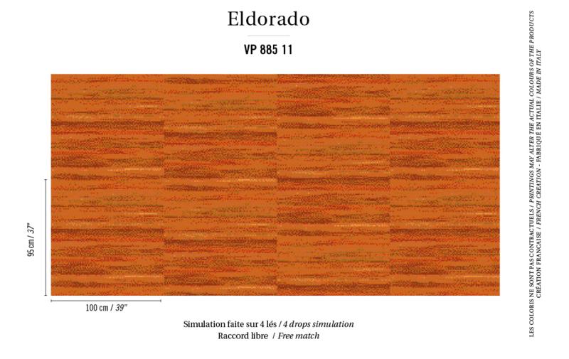 Élitis Eldorado Isola behang VP 885 11