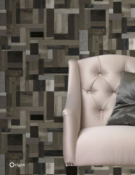 Origin Matières-Wood behang 337222