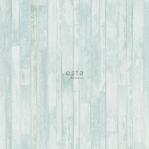 Esta Home Greenhouse Sloophout planken behang 128837