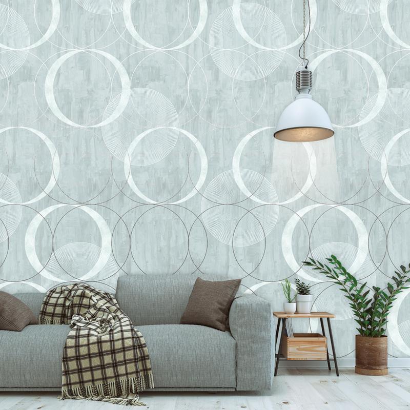 Behangexpresse Timeless Wallprint Circling Color INK 7155